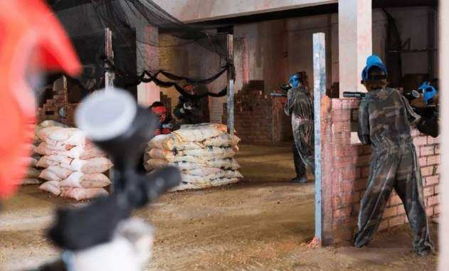 What is indoor paintball